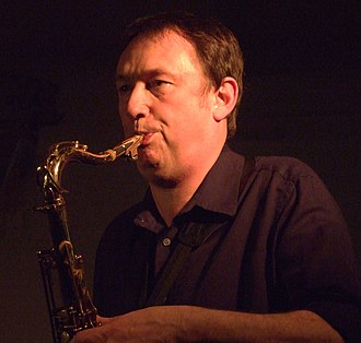 John Butcher (musician) - Image: John Butcher on sax