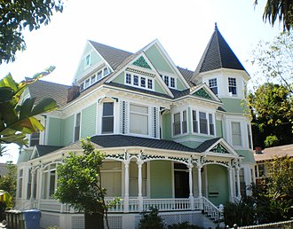 North University Park Historic District - Image: John C. Harrison House, Los Angeles