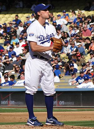 John Ely (baseball) - Ely pitching at Dodger Stadium, May 2010