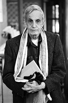 John Forbes Nash, Jr. fotografiat de Peter Badge