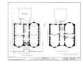 John H. Shoenberger House, 425 Penn Avenue, Pittsburgh, Allegheny County, PA HABS PA,2-PITBU,9- (sheet 2 of 6).png