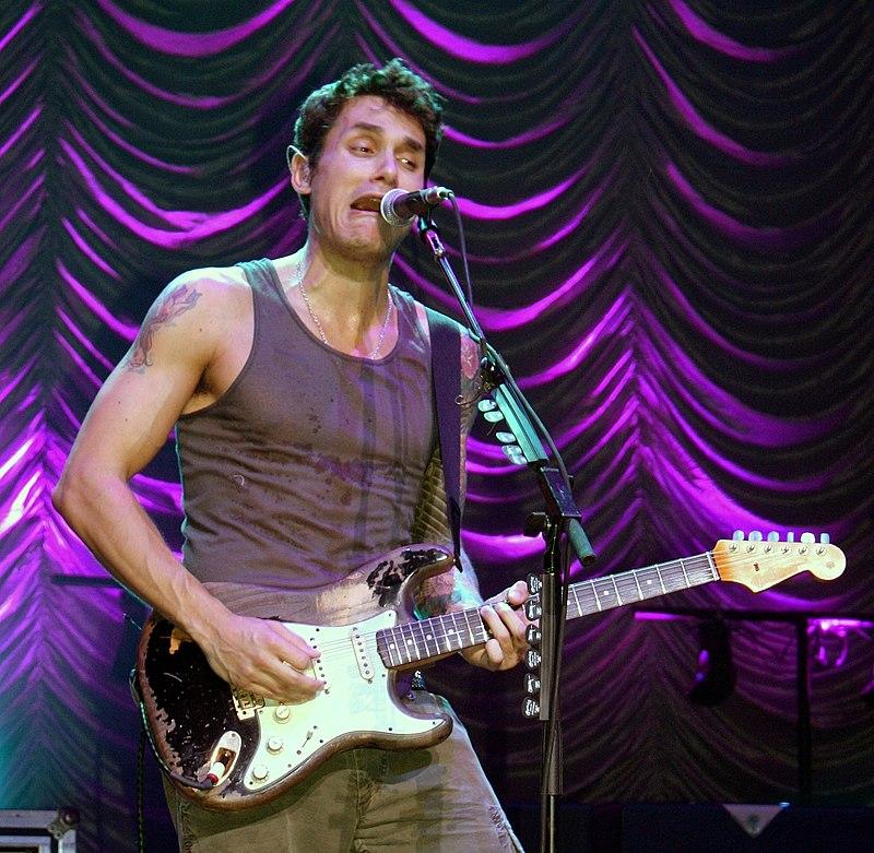 John Mayer live (Quelle: wikipedia)