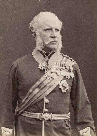 John Miller Adye - Image: John Miller Adye, 1882