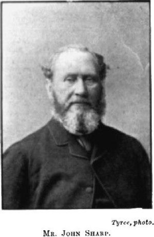 John Sharp (New Zealand politician) - John Sharp
