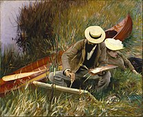 SARGENT John Singer An Out-of-Doors Study, 1889