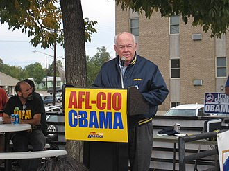 John Sweeney (labor leader) - John Sweeney in October 2008