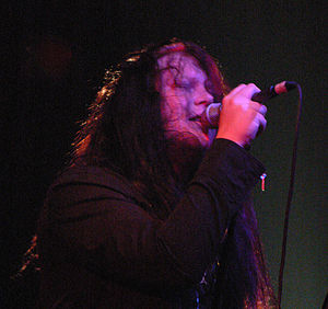 Jonas Renkse - Jonas Renkse singing for Katatonia in 2007