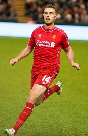 Jordan Henderson - Henderson playing for Liverpool in 2014