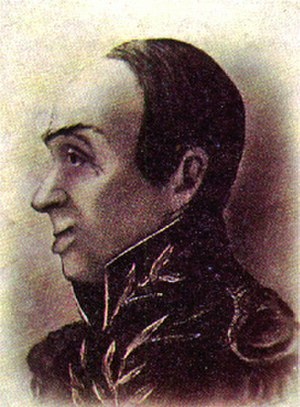 """José Miguel Pey de Andrade - """"First President of Colombia"""""""