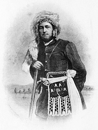 Joseph Meek - Meek as a young man