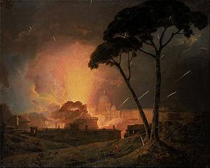 La Girandola annuelle au château Saint-Ange, Rome