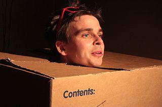 Joz Norris British alternative comedian, comic actor and screenwriter