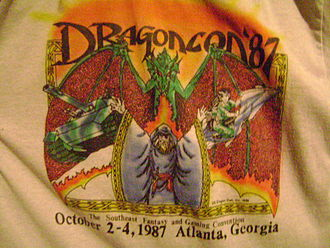 Dragon Con - Dragon Con shirt from 1987