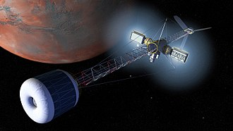 Human mission to Mars - Spacecraft for transporting crew to Mars