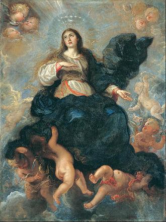 Juan Carreño de Miranda - Image: Juan Carreño de Miranda The Assumption of the Virgin Google Art Project
