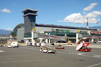 Juan Santamaría International Airport - Image: Juan Santamaria Airport SJO 12 2009 4900