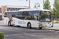 Junee Buses (1705 MO) Express bodied Volvo B7RLE on Baylis Street, Wagga Wagga.jpg