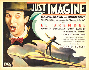 Description de l'image Just Imagine lobby card 2.jpg.