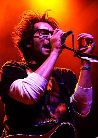 Motion City Soundtrack - Image: Justin Pierre The 9 30 Club 2010