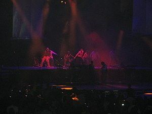"""LoveStoned - Justin Timberlake performing """"LoveStoned"""" during his 2007 FutureSex/LoveShow concert tour"""