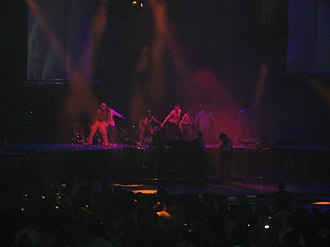 "LoveStoned - Justin Timberlake performing ""LoveStoned"" during his 2007 FutureSex/LoveShow concert tour"