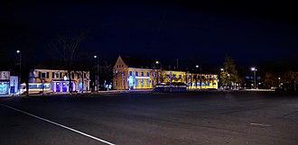 Priozersk - Priozersk at night