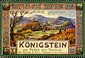Königstein Cinderella-Briefmarke von Ludwig Brühl (1870-1924).JPG