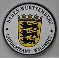 KFZ-Zulassungsplakette Landratsamt Waldshut.JPG