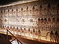 KV17, the tomb of Pharaoh Seti I of the Nineteenth Dynasty, Pillared chamber F, southeast wall decorated with the scenes from the Book of Gates, Valley of the Kings, Egypt (49845805158).jpg