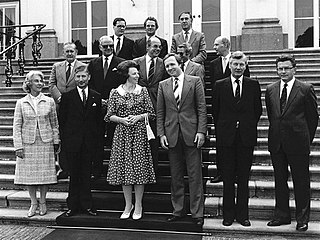 Third Van Agt cabinet Dutch cabinet (1982)