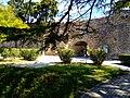 Kalaja në qytetin e Durrësit- muri rrethues 04.jpg
