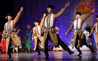 Kalmyks - Kalmyk dancers