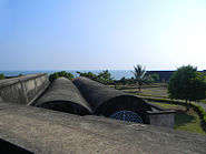 Kannur fort aerial view