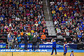 Kansas Jayhawks Open Practice at the 2016 March Madness Opening Rounds (25843825485).jpg