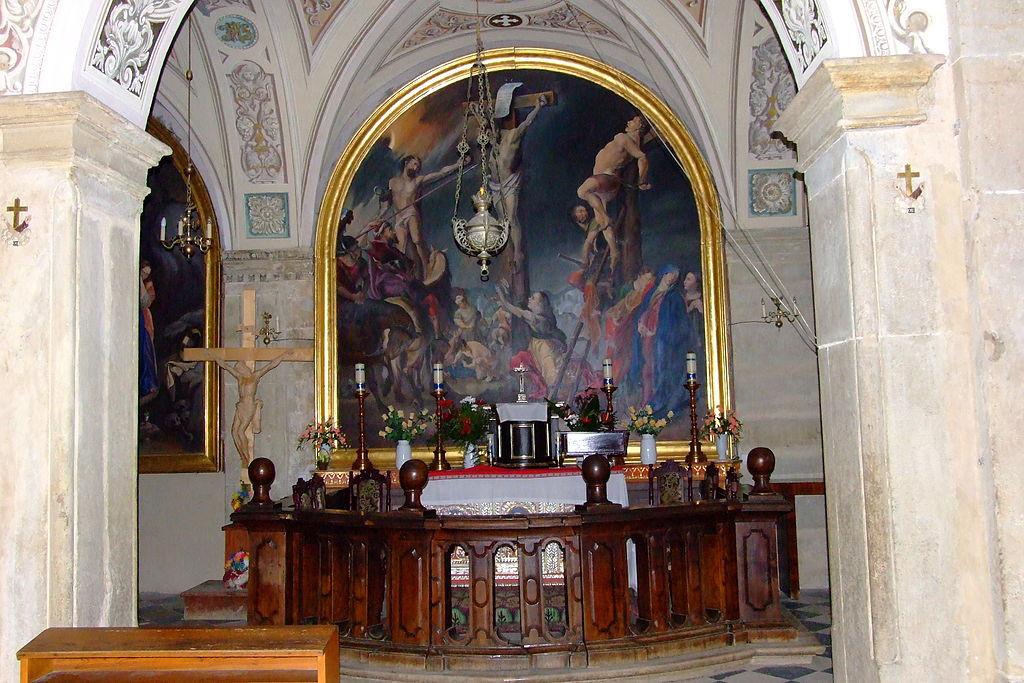 Kaplica Matki Boskiej Bolesnej należąca do Dróżek w Kalwarii Zebrzydowskiej2.JPG