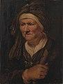 Karel van III Mander - En gammel kone. Allegorisk fremstilling af hørelsen - KMSsp800 - Statens Museum for Kunst.jpg
