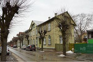 Karlova, Tartu - Image: Karlova, Õnne 33