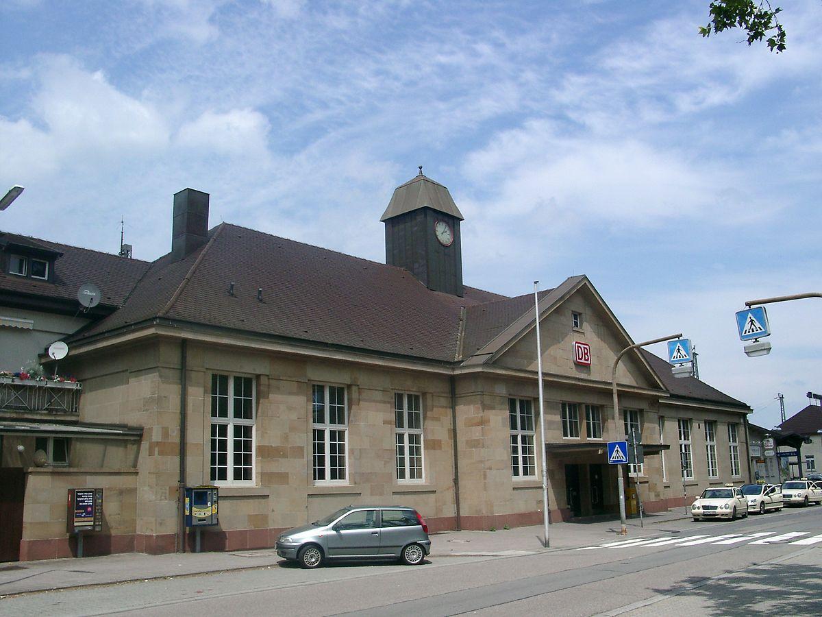Bahnhof Karlsruhe Durlach