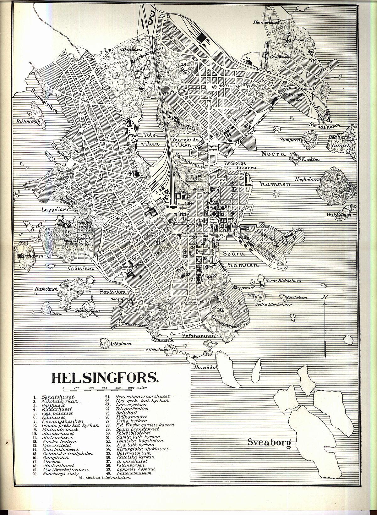 Helsingin Kantakaupunki Wikipedia