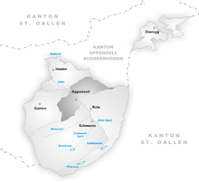 Canton of Appenzell Innerrhoden Wikipedia