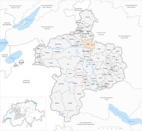 Map of Bolligen