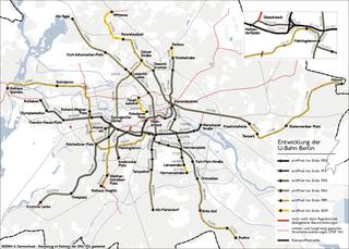 History of the Berlin U-Bahn aspect of history