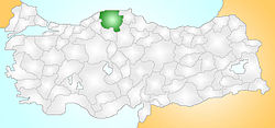 Kastamonu Turkey Provinces locator.jpg