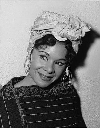 Katherine Dunham - Katherine Dunham in 1956.