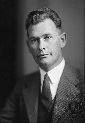 Motueka by-election, 1932 - Image: Keith Holyoake (1933)
