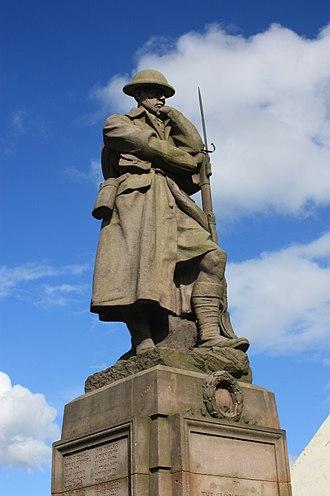 Kelty - Kelty war memorial