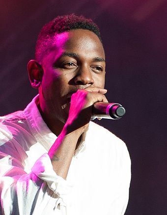 Three-time winner Kendrick Lamar Kendrick Lamar Way Out West 2013 (cropped).jpg