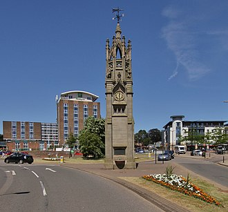 Kenilworth - Image: Kenilworth Clock Tower SSE