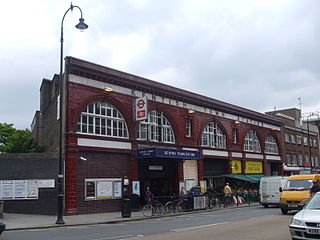 Kentish Town station London Underground and railway station