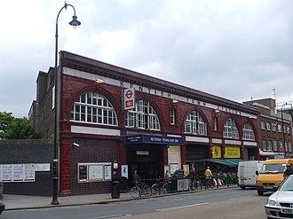 Kentish Town station - Image: Kentish Town stn building